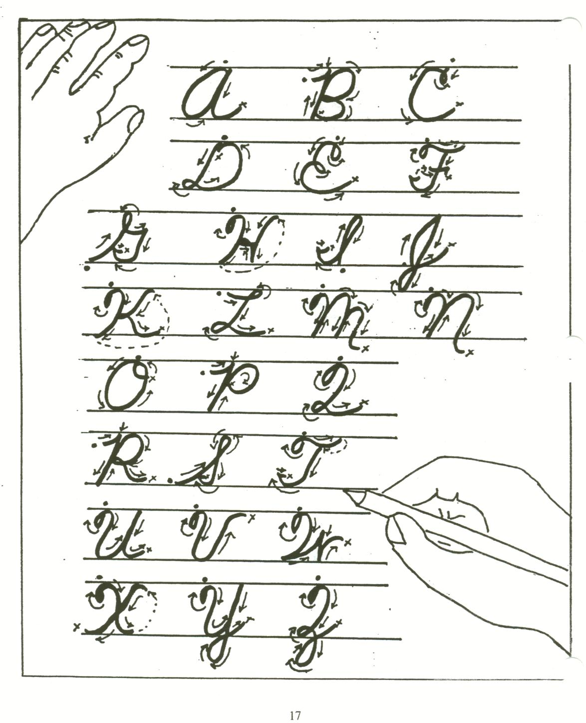 Worksheet Cursive Paper how long can paper and cursive last ross jos blog handwriting
